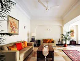 : colonial Living room by Dhruva Samal & Associates