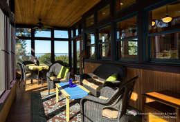Patricia K Emmons - Rural Oregon Craftsman Home - Interior 12: moderne Schlafzimmer von Chibi Moku