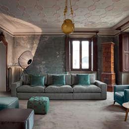 classic Living room تنفيذ IQ Furniture