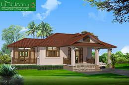 Projekty,   zaprojektowane przez บ้านอีสาน