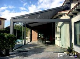 Projekty,  Taras zaprojektowane przez CONILLAS - exteriors