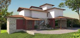 Casas de estilo rural por P&I Arquitetura