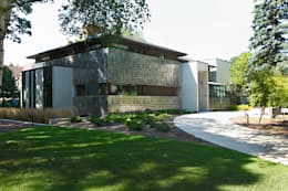 Handsart Residence Exterior: modern Houses by Unit 7 Architecture