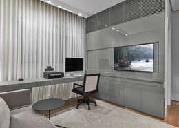 مكتب عمل أو دراسة تنفيذ Alessandra Contigli Arquitetura e Interiores