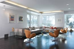 ZT Residence Interiors : modern Study/office by Unit 7 Architecture