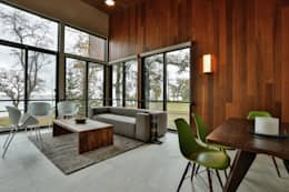 modern Living room by Unit 7 Architecture