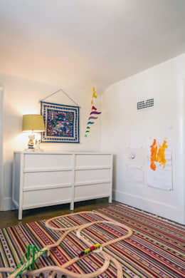 SV Modern Kids Bedroom: modern Bedroom by Unit 7 Architecture