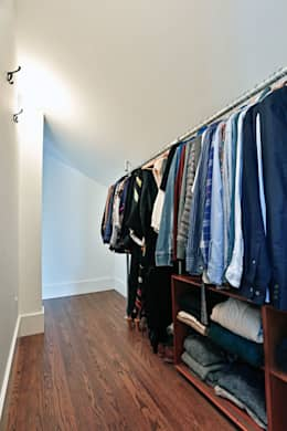 17 desenhos de closets abertos e simples para fazer em casa for Closet armables economicos