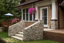 Casas de estilo rural por Unit 7 Architecture