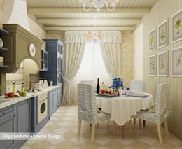 مطبخ تنفيذ Design by Ladurko Olga