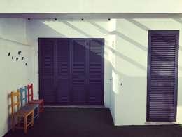Casas de estilo rústico por QFProjectbuilding, Unipessoal Lda