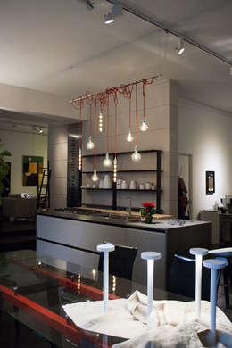 industrial Kitchen by Arch. Vittoria Ribighini