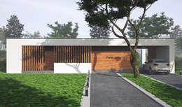 Современный загородный дом: Дома в . Автор – Sboev3_Architect