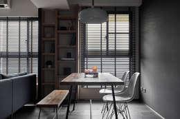 مكتب عمل أو دراسة تنفيذ 寬度 空間設計整合