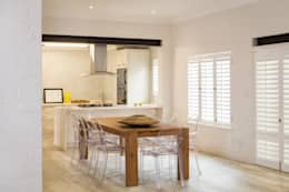 Comedores de estilo minimalista por Deborah Garth Interior Design