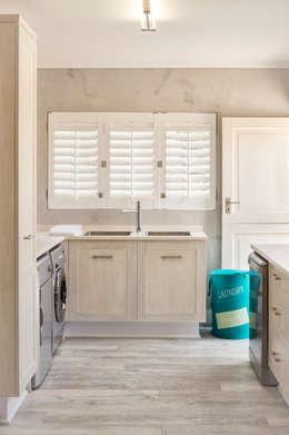 New scullery: minimalistic Kitchen by Deborah Garth Interior Design