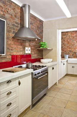 Cocinas de estilo rústico por Deborah Garth Interior Design