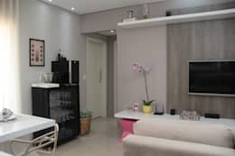 modern Living room by Paula Ferro Arquitetura
