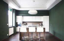 Cocinas de estilo minimalista por Andrea Orioli