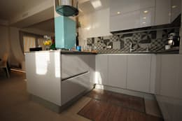 Projekty,  Kuchnia zaprojektowane przez Fabiola Ferrarello architetto