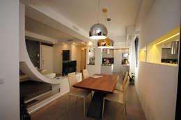 Projekty,  Jadalnia zaprojektowane przez Fabiola Ferrarello architetto