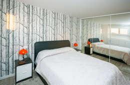 scandinavian Bedroom by Fabiola Ferrarello architetto