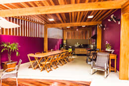 Cocinas de estilo topical por Bianca Ferreira Arquitetura e Interiores