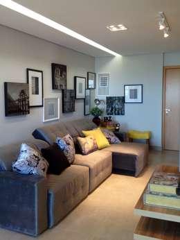 Salones de estilo  por Cia de Arquitetura