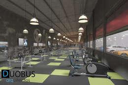 modern Gym by DUOBUS M + L arquitectos