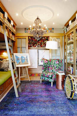 VISI 84 July Feature 2016: eclectic Conservatory by The Painted Door Design Company