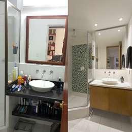 Baño:  de estilo  por Bloque B Arquitectos