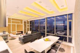 Comedores de estilo moderno por Bloque B Arquitectos