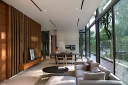 Paterson 3: modern Living room by AR43 Architects Pte Ltd