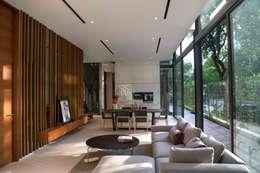 客廳 by AR43 Architects Pte Ltd
