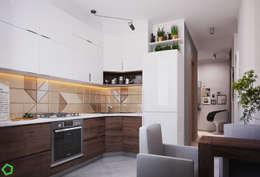scandinavian Kitchen by Polygon arch&des