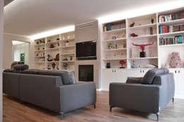 Гостиная в . Автор – DCA Studio - Davide Carelli Architetto