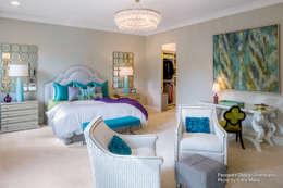 modern Nursery/kid's room by Chibi Moku
