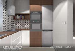kuchnia: styl , w kategorii  zaprojektowany przez Patrycja Bedyk Studio Projektowe