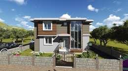 Casas de estilo moderno por alfa mimarlık