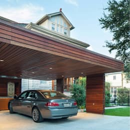 City Park Carport, New Orleans: modern Garage/shed by studioWTA