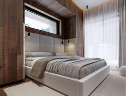 Projekty,  Sypialnia zaprojektowane przez ATO Studio