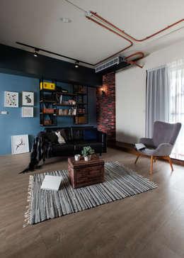 健身房與咖啡廳,在我家:   by 苑茂室內設計工作室