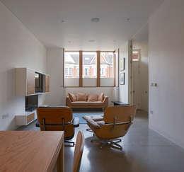 Projekty,  Salon zaprojektowane przez Knox Bhavan Architects