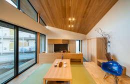 Столовые комнаты в . Автор – STaD(株式会社鈴木貴博建築設計事務所)