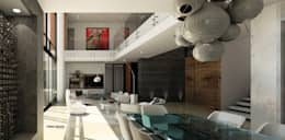 VIVIENDA CAUJARAL - N F & M A:  de estilo  por Cabas/Garzon Arquitectos