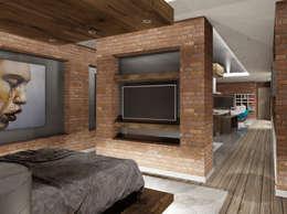 de estilo  por Cabas/Garzon Arquitectos