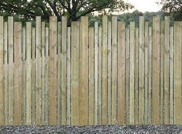 Vườn by Braun & Würfele - Holz im Garten