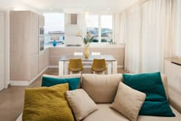 Casa N+V: Cucina in stile in stile Moderno di manuarino architettura design comunicazione