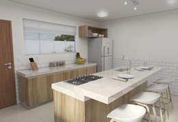 : Cozinhas minimalistas por Filipe Castro Arquitetura | Design