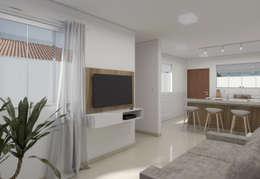 : Salas de estar minimalistas por Filipe Castro Arquitetura | Design